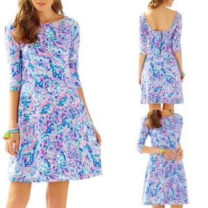 Lilly Pulitzer Celia Fit and Flare Dress Sz S